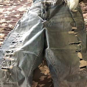 Boutique crop pants